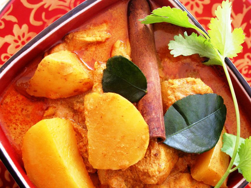 Thai Chicken Curry with Potatoes, World's Best!