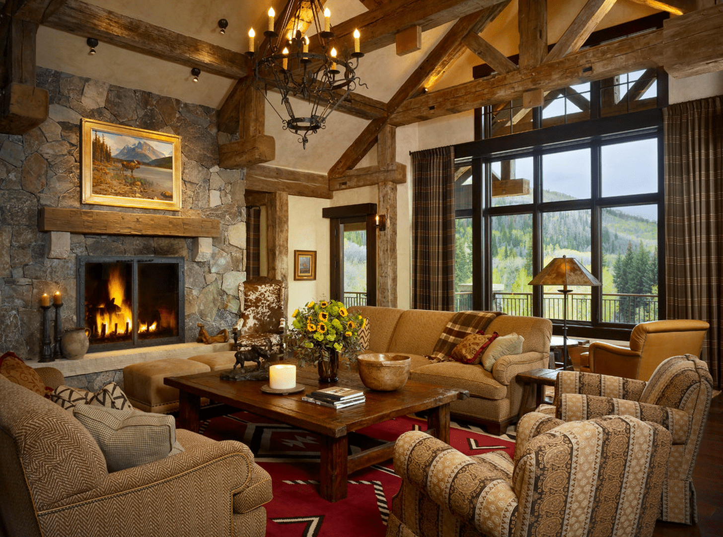 21 cozy living room design ideas - Decorating Ideas For Living Rooms With Fireplaces