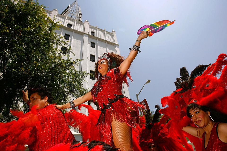 West Hollywood Hosts Gay Pride Parade