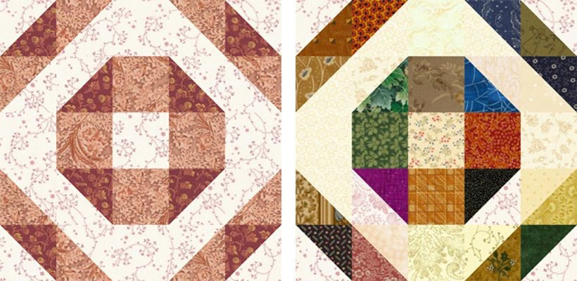 Design a Quilt With These Free Quilt Block Patterns : wedding quilt block pattern - Adamdwight.com