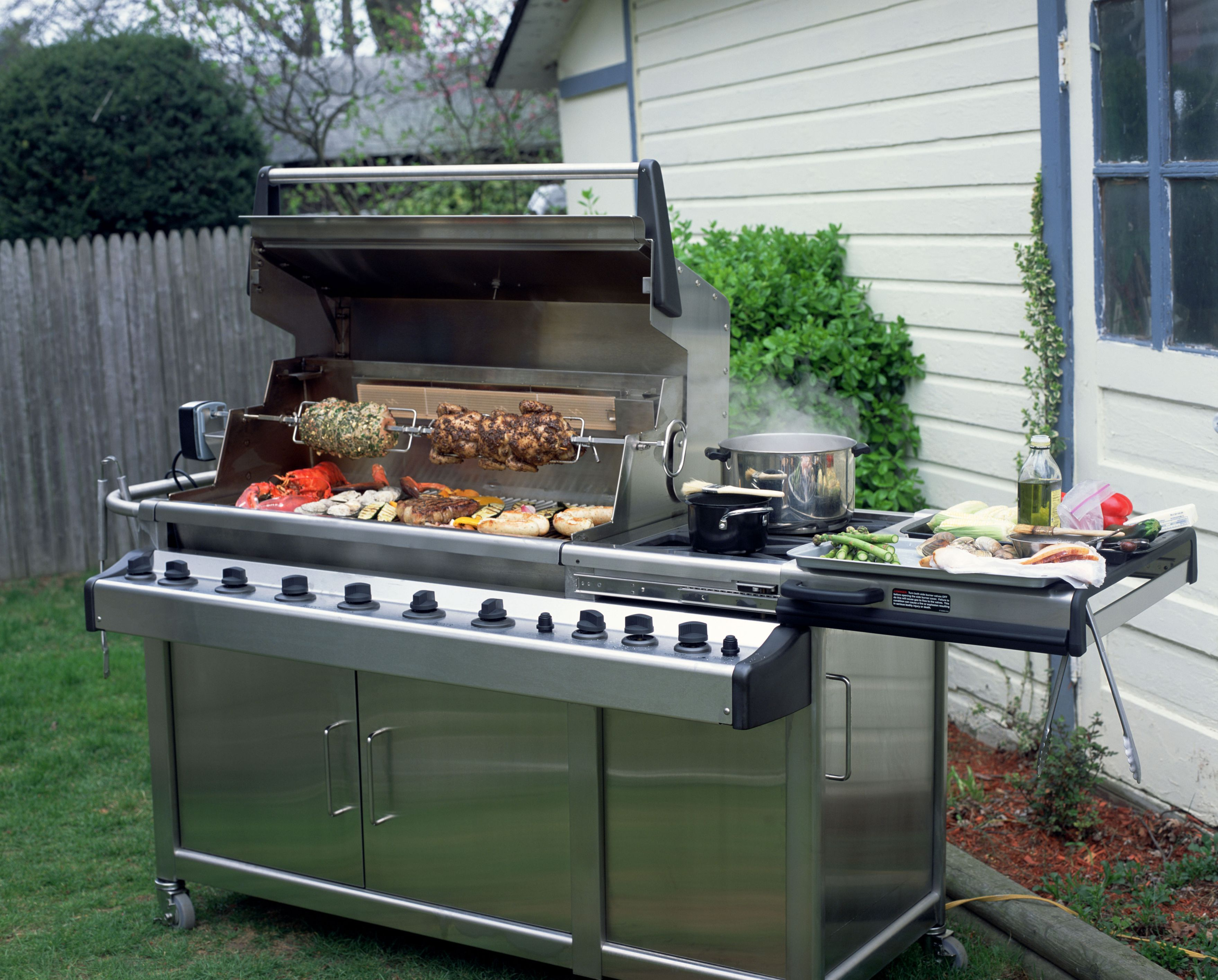 the secret of great rotisserie cooking
