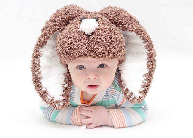 Floppy Ears Easter Bunny Hat