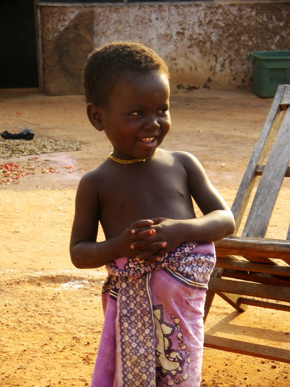 Girl in Pink, Northern Ghana, West Africa