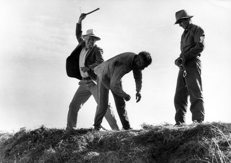 """In the movie Cool Hand Luke (1967), the Captain (played by Strother Martin) says to Luke Jackson (Paul Newman), """"What we've got here is a failure to communicate. Some men you just can't reach."""""""