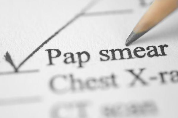 pap smear exam sheet