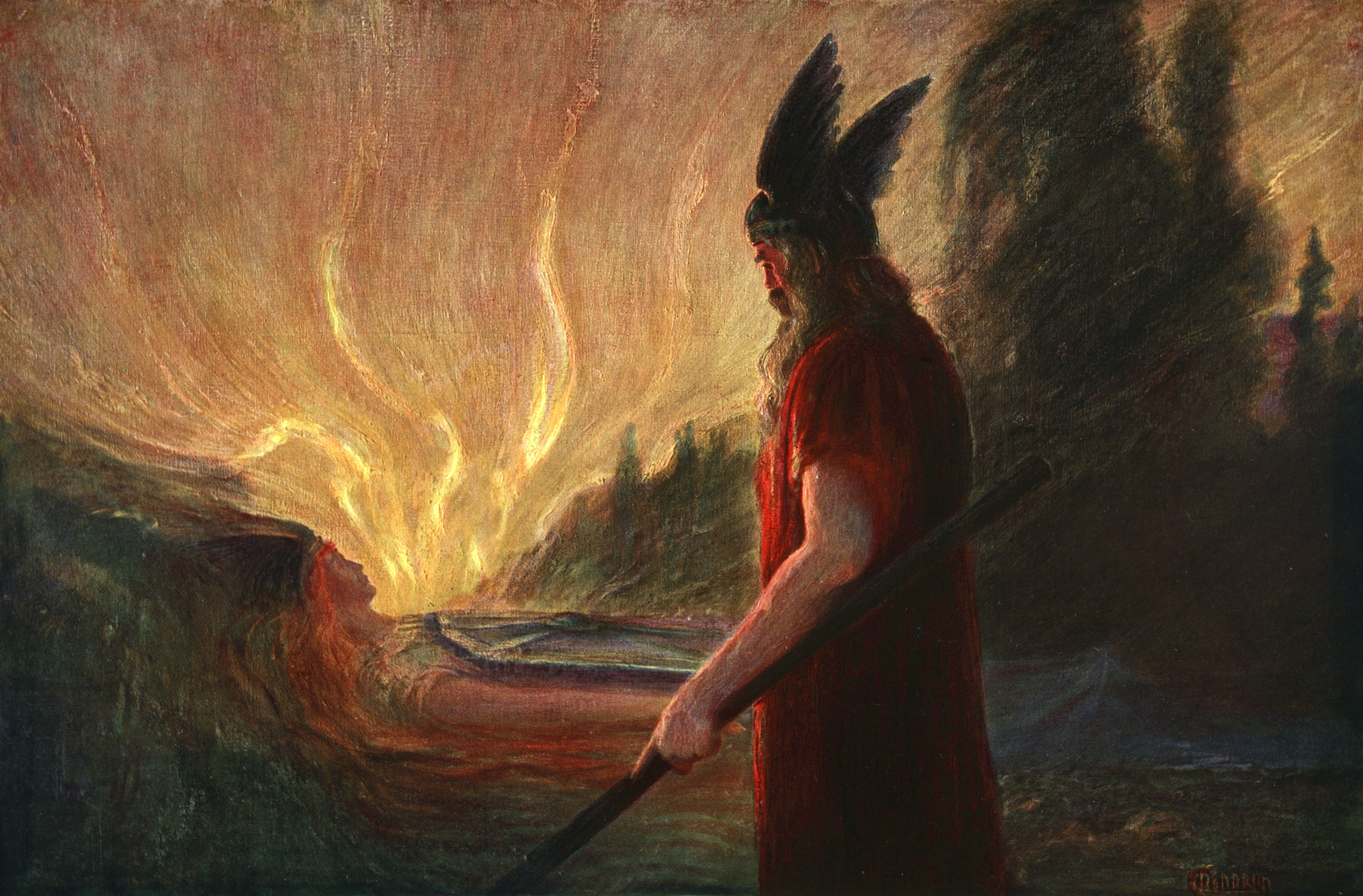 odin ruler of the norse gods
