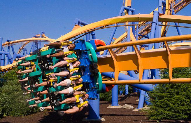 Talon coaster at Dorney Park