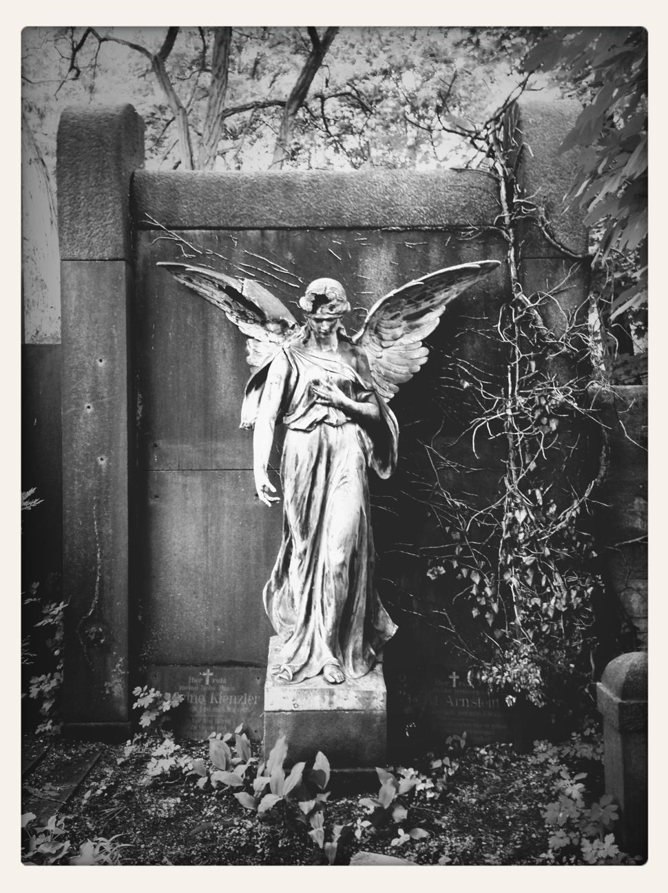 Why do angels have wings and what do they symbolize angel statue against wall biocorpaavc