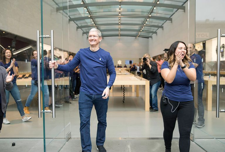 Tim Cook at Apple iPhone 7 Release in Palo Alto