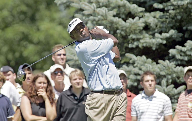 Vijay Singh at the Buick Open