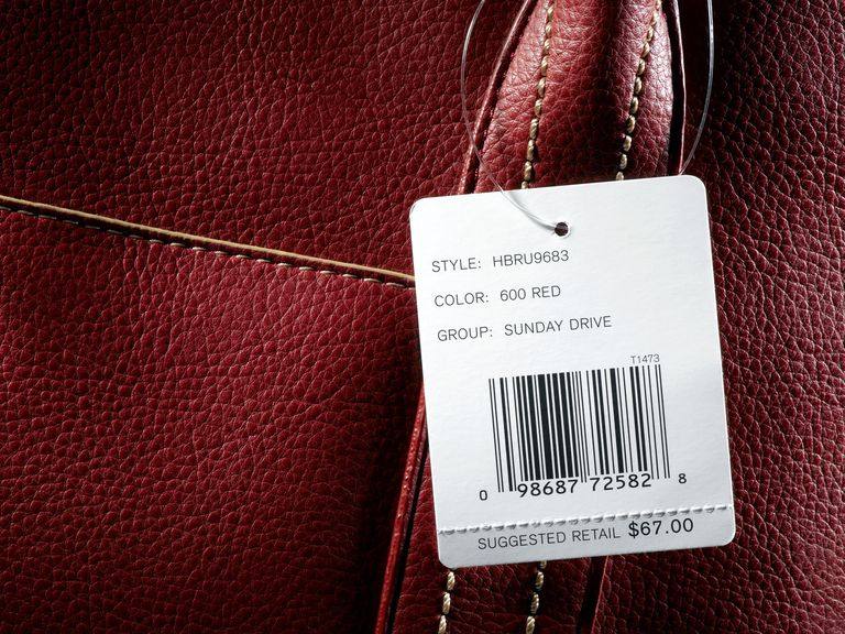 Bag with tag still on