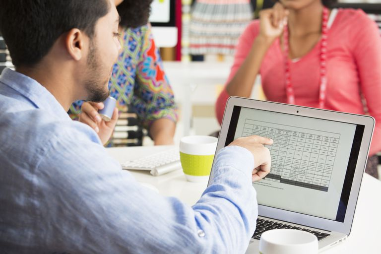 Use these Microsoft Excel shortcuts to select rows and columns of data.