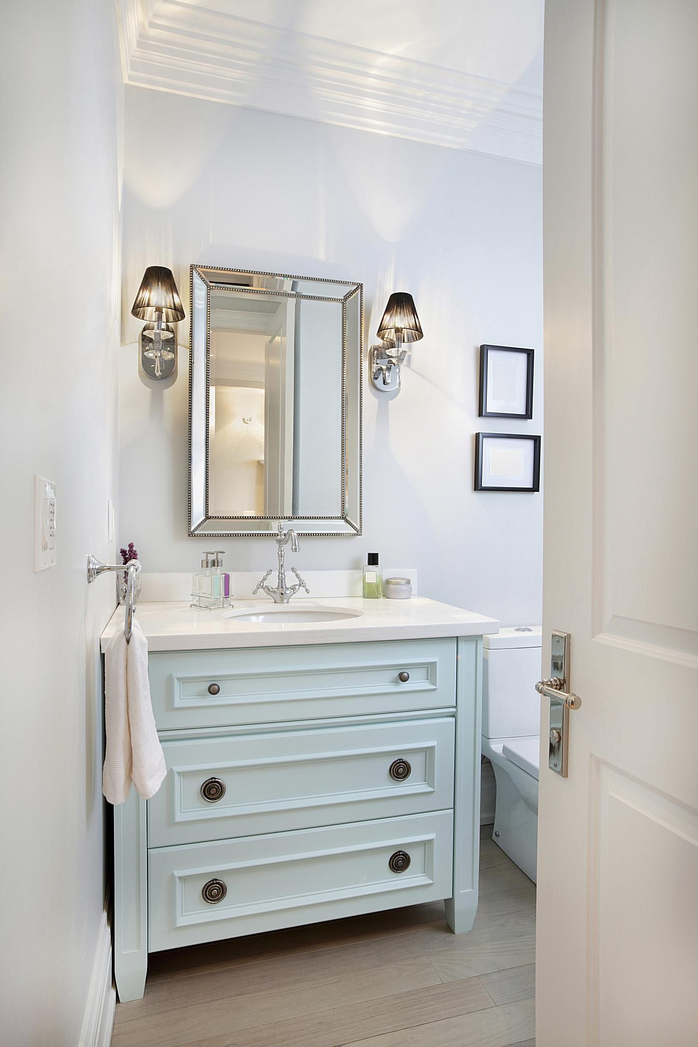 Pretty Powder Rooms We Love - Powder bathroom ideas