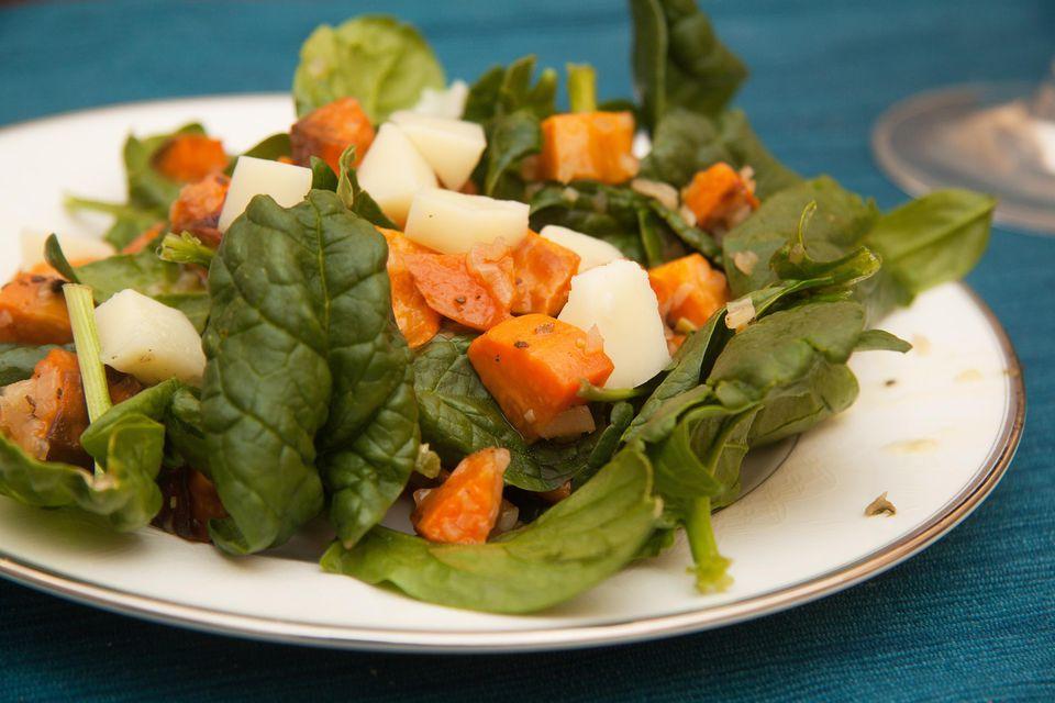 Roasted Kumara Salad