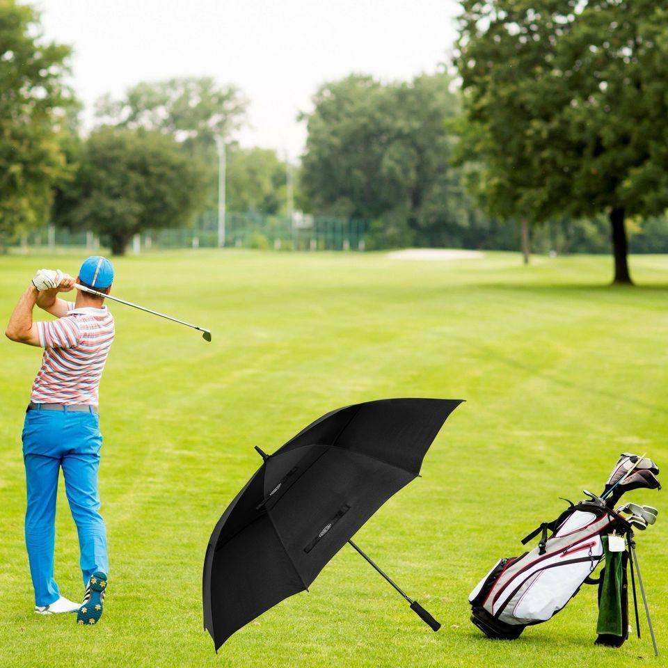 Extra Large Windproof Golf Umbrella: 62