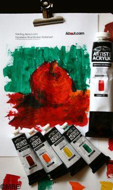 Winsor Newton Artist Acrylic paint