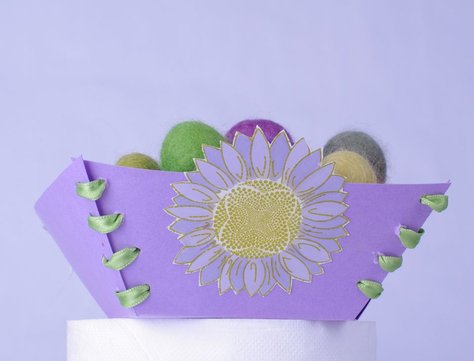 Folded Paper Tray