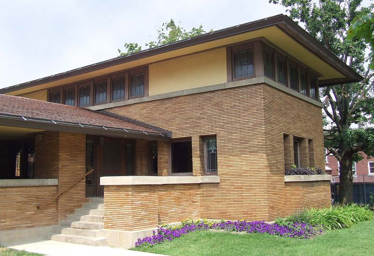 Frank lloyd wright a portfolio of selected works - Frank lloyd wright architecture style ...