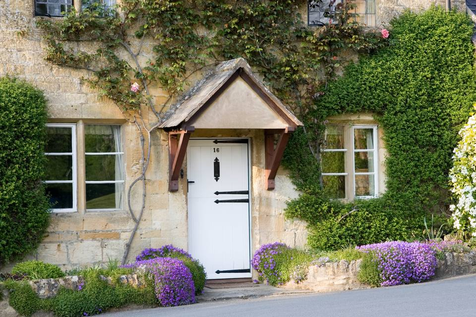 Typical Cotswolds Cottage, UK