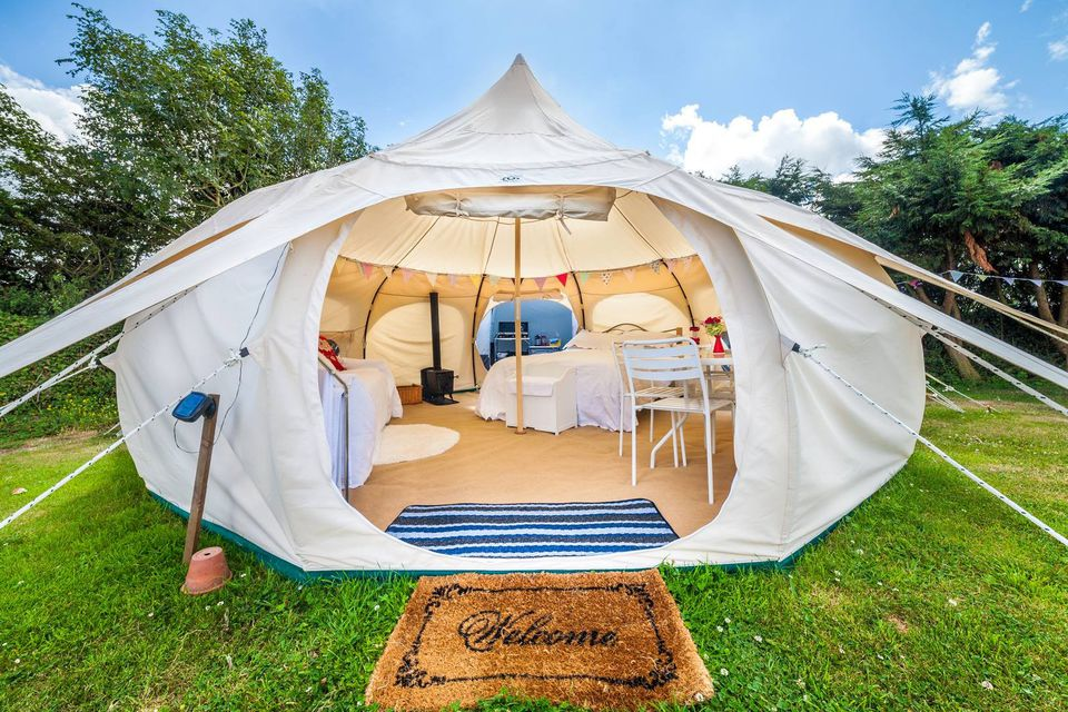 The Outback Deluxe By Lotus Belle Makes Summer Glamping Cooler