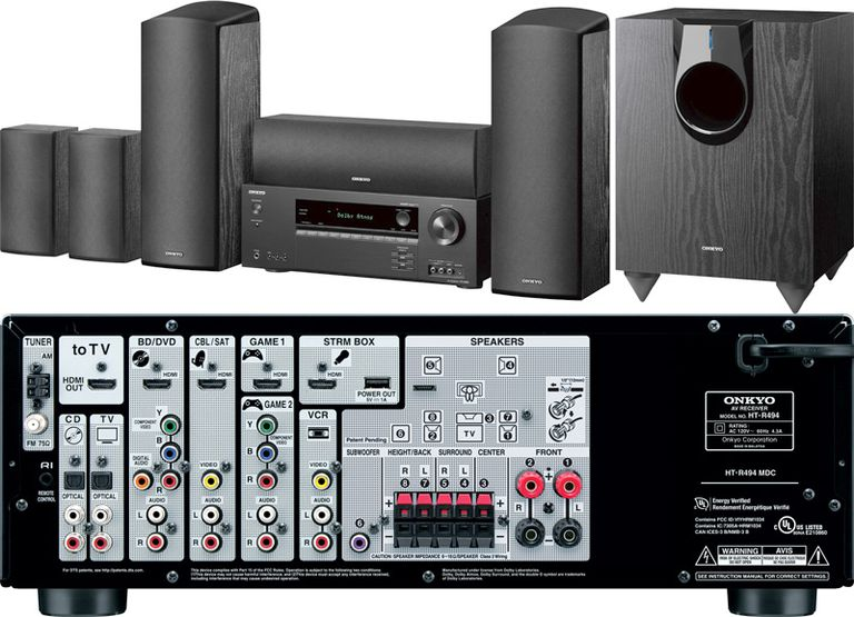 Onkyo HT-S5800 Home Theater-in-a-Box System