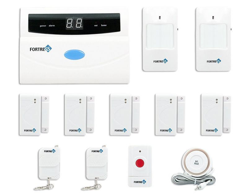 Fortress Security Store (TM) S02-A Wireless Home and Business Security Alarm System DIY Kit