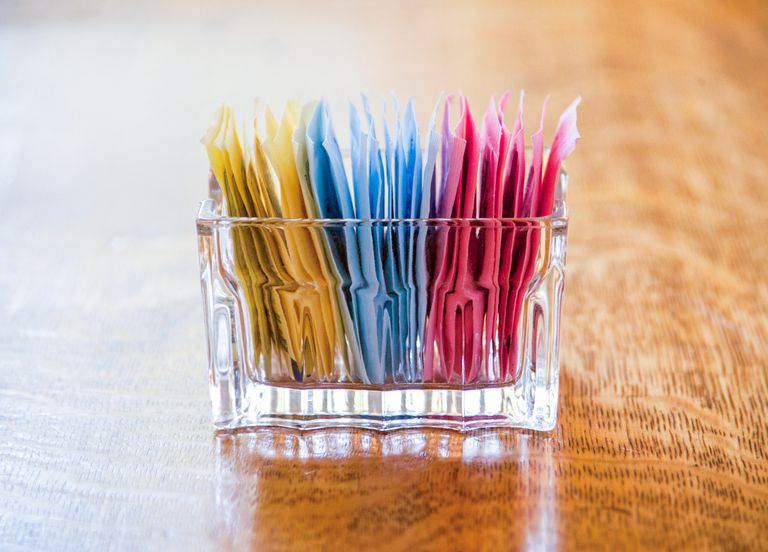 Artificial sweetener packets
