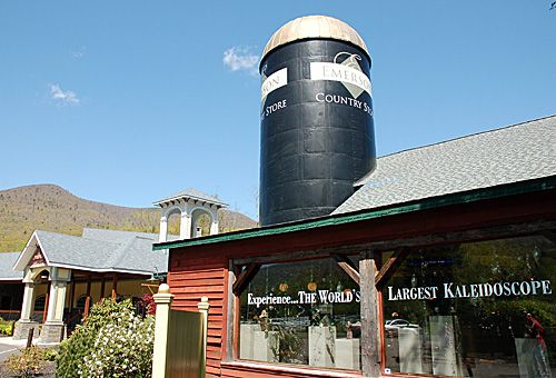 World's Largest Kaleidoscope Photo - Dairy Barn Silo Houses World's Largest Kaleidoscope