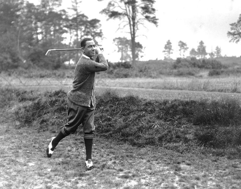 Walter Hagen in 1920