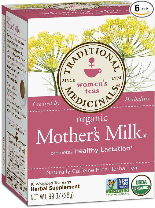 Traditional Medicinals Women's Tea: Herbal Lactation Tea, Nursing Tea, Breastfeeding Tea To Increase Breast Milk Production