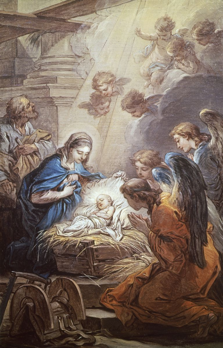 Nativity by Carle Vanloo