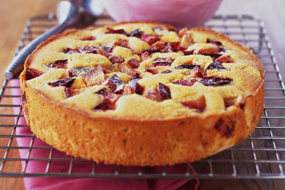 Plum Cake Recipe Polish