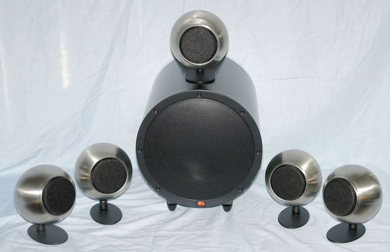 Anthony Gallo A'Diva SE Satellite and TR-3D Subwoofer Speaker System with Optional Table Stands