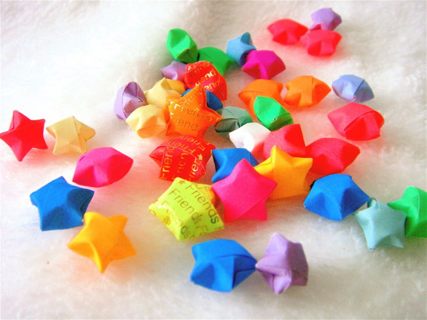 Origami Lucky Stars