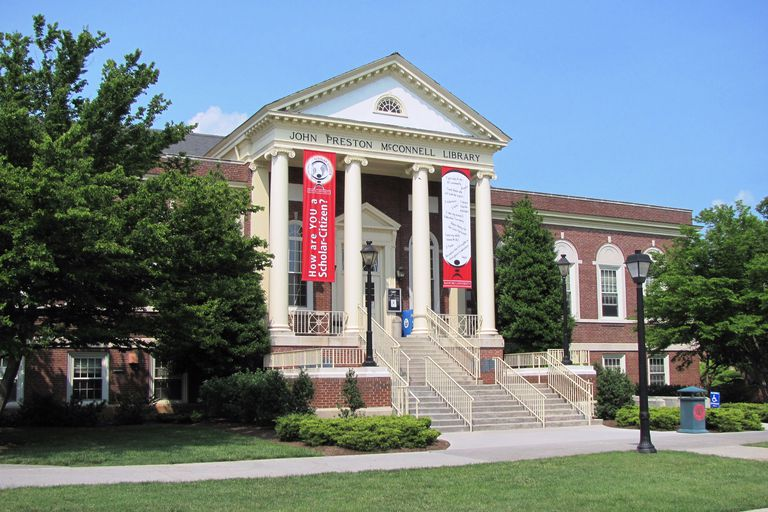 McConnell Library at Radford University