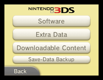 Deleting Games To Make Room Nintendo Ds