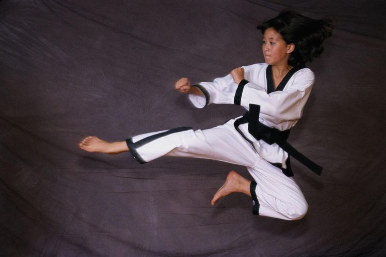 Tae Kwon Do Leap Kick