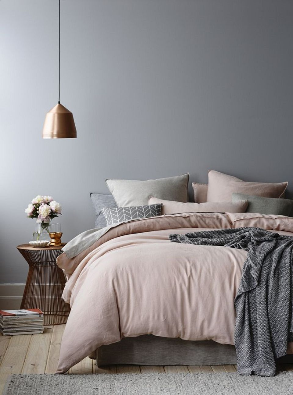 Pastel Scandinavian Bedroom