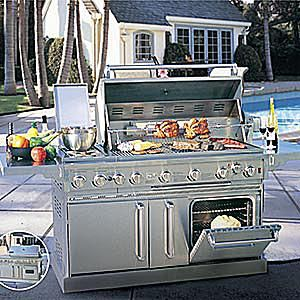 Kirkland Grand Classic Stainless Steel Gas Grill with Oven