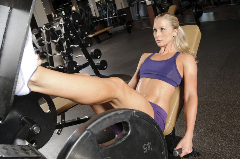 Leg Press Female
