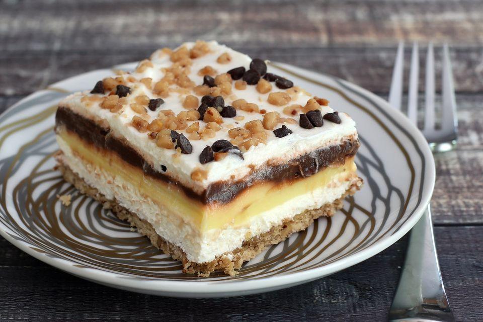 Sex in a Pan Layered Dessert