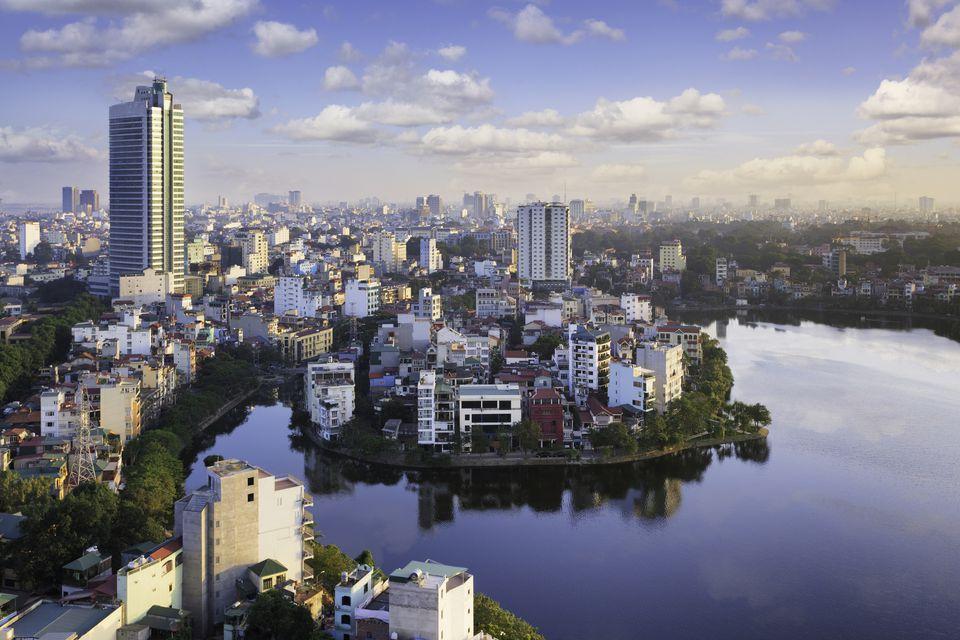 View over Hanoi, Vietnam