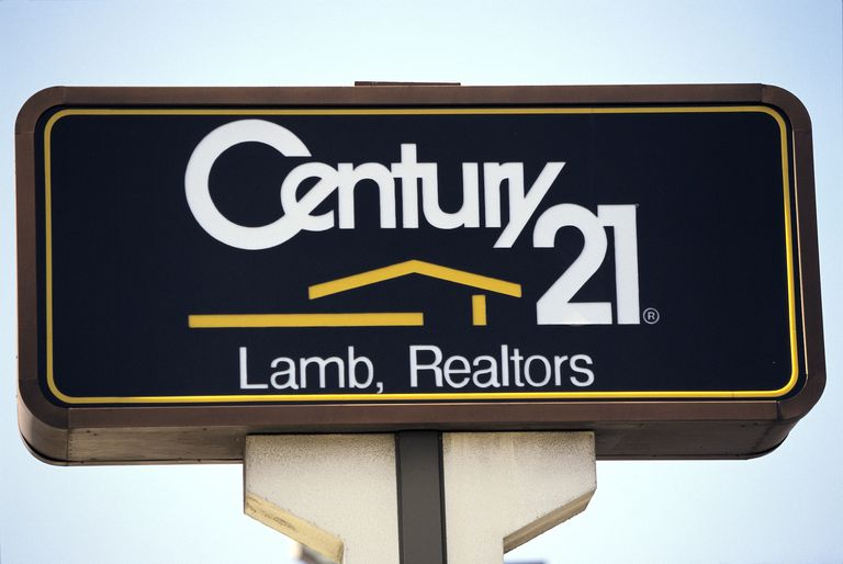 Sign for Century 21 Real Estate