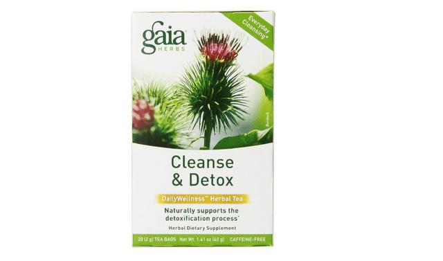 Gaia Herbs Cleanse and Detox Tea Bags