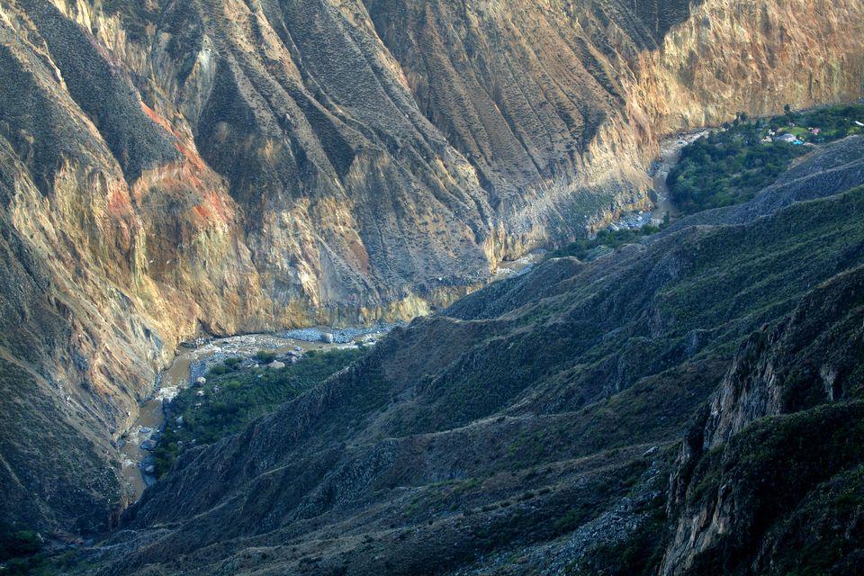 The Colca Canyon in Arequipa, Peru.