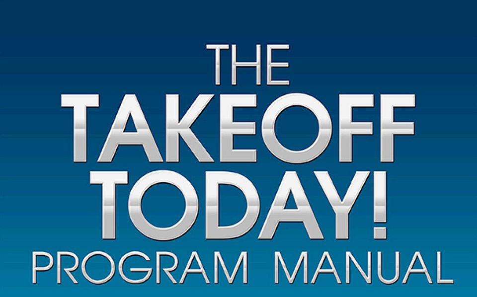 The Takeoff Today Program Manual