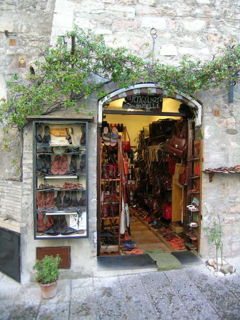 Shopping At Specialty Stores And Artisan Boutiques In
