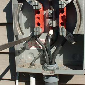 Rv Power Pedestal Metered further Maxresdefault in addition Mb On House W Disc in addition Cutler Hammer   Fusible Disconnect For Sale together with Electric Meter Load Connection A F Df Cf B C. on electric meter base wiring diagram