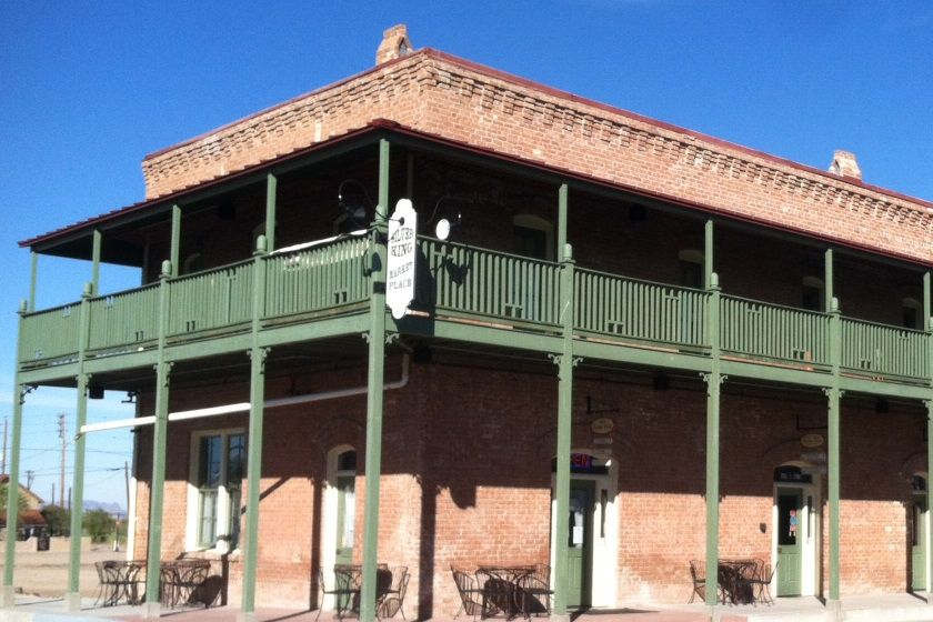 Silver King Hotel & Marketplace, in downtown Florence