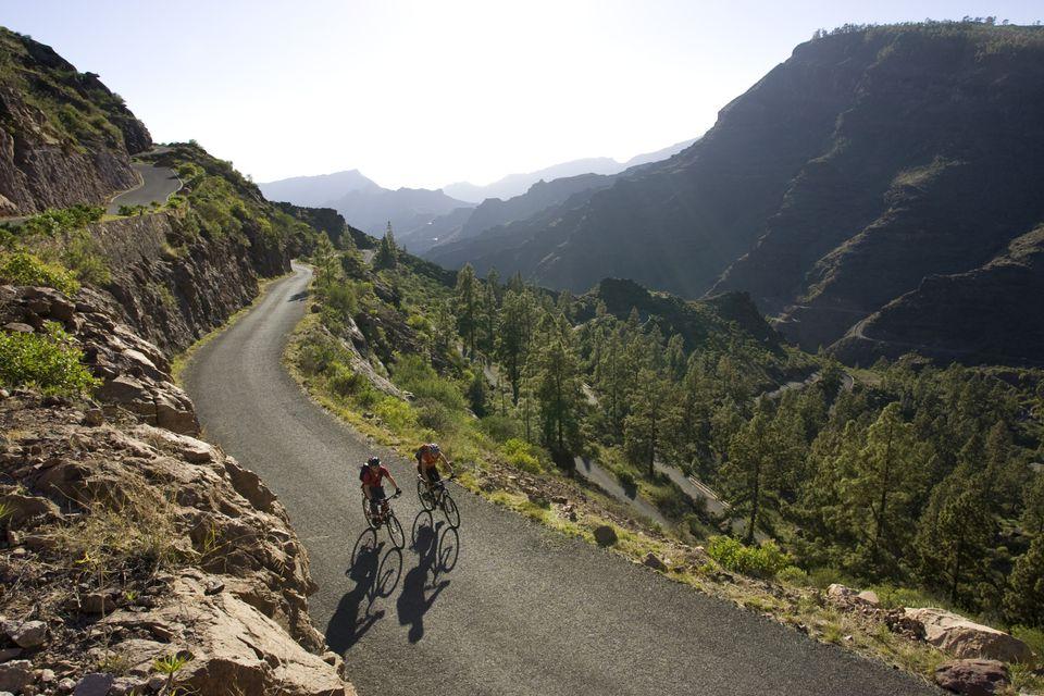 Biking Gran Canaria, Spain